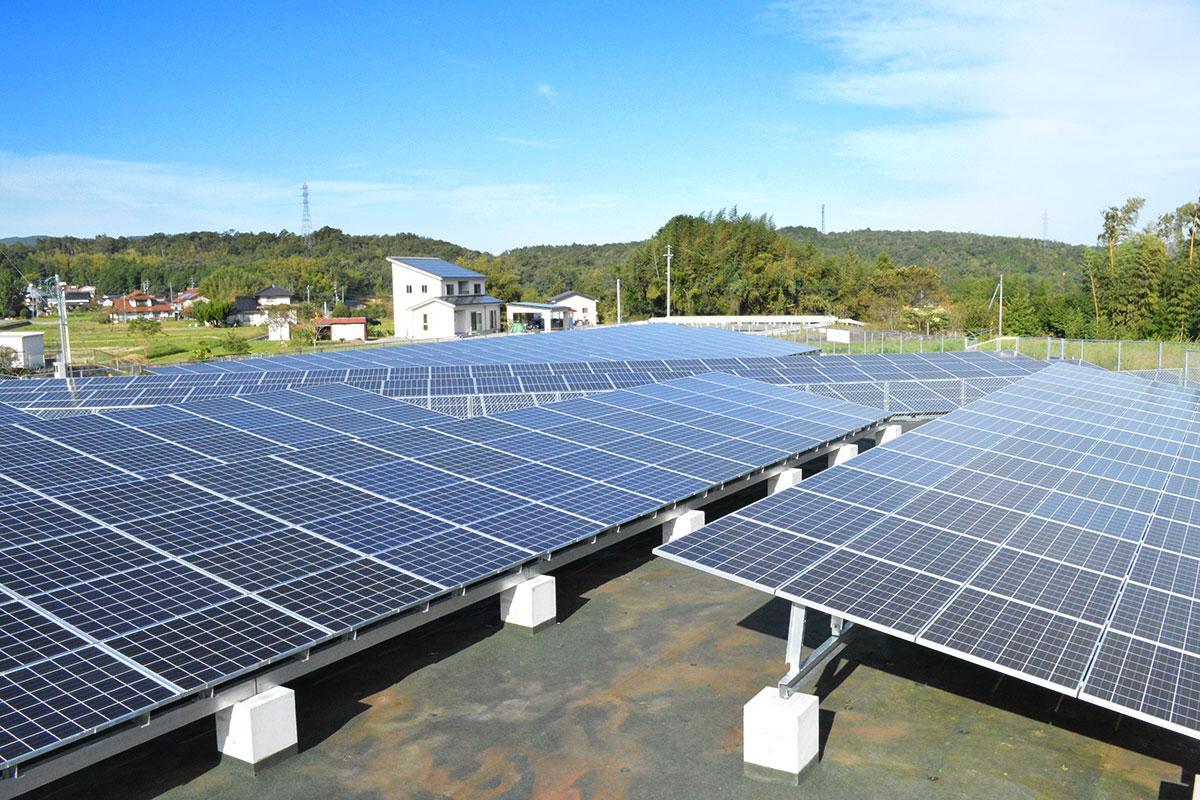 太陽光発電 三次